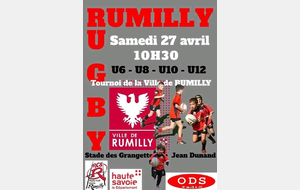 ECOLE DE RUGBY - TOURNOI A RUMILLY